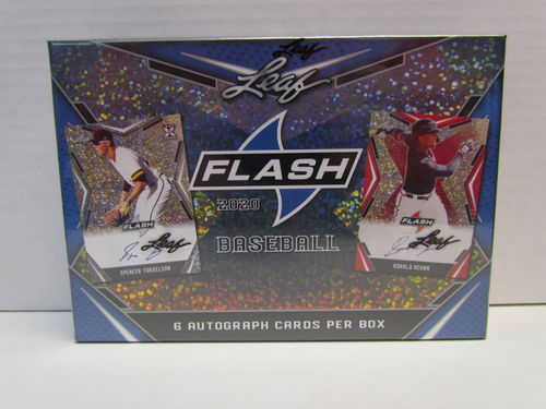2020 Leaf Flash Baseball Hobby Box