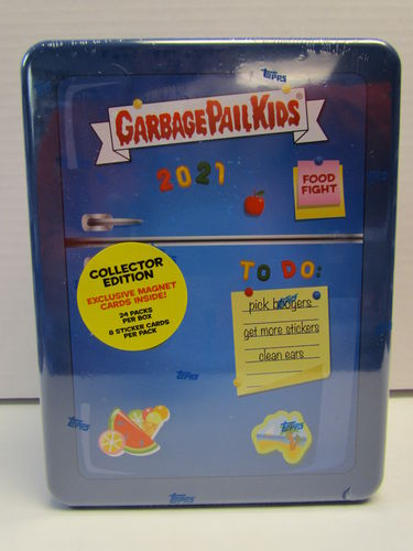 2021 Topps Garbage Pail Kids Food Fight Collector's Box
