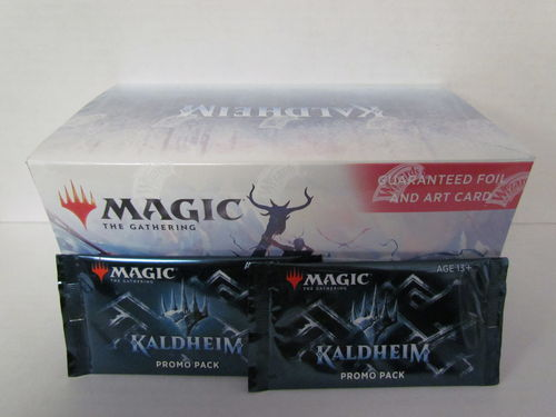 Magic the Gathering Kaldheim Set Booster Box with 2 Promo Packs