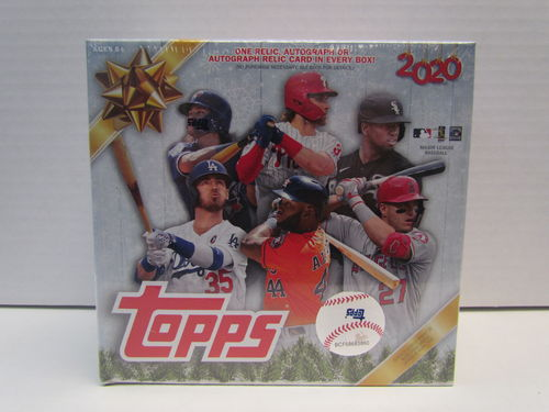 2020 Topps Holiday Baseball Mega Box
